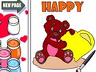 A Care Bears coloring!